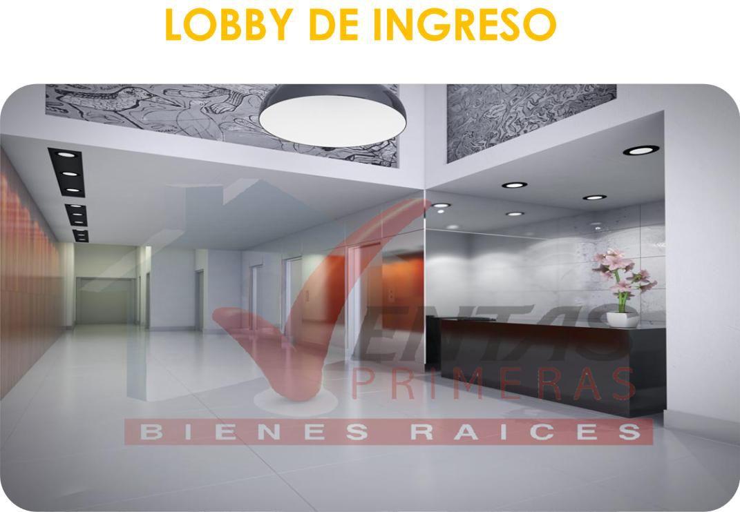 LOBY DE INGRESO - OFICINAS MIRAFLORES